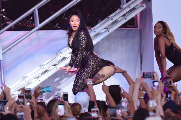 Americká zpěvačka Nicki Minaj na hudebním festivalu Billboard Hot 100 v New Yorku. - Sputnik Česká republika