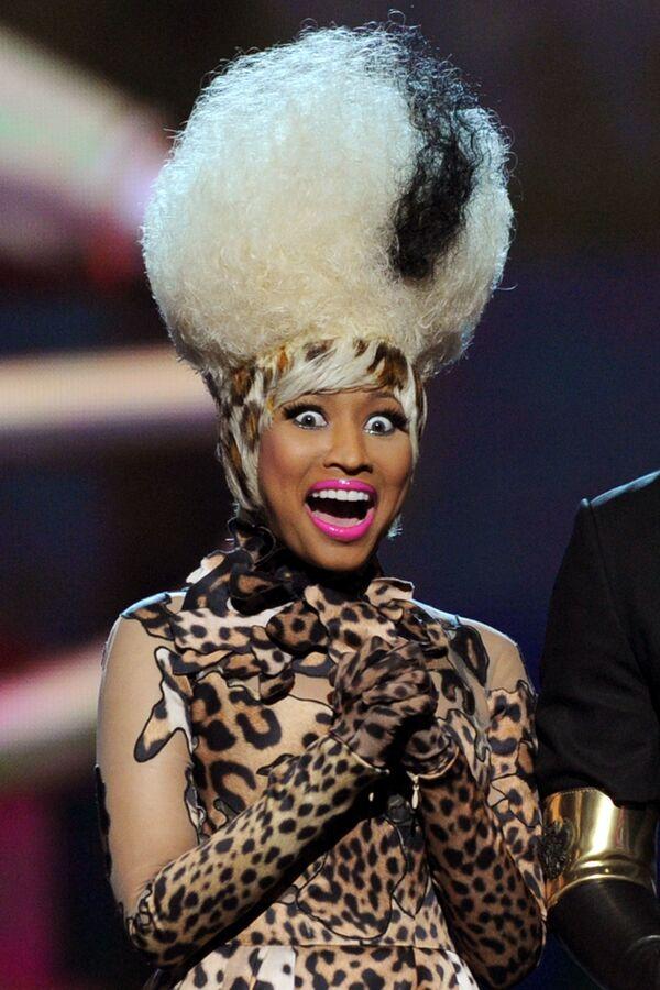 Zpěvačka Nicki Minaj na předávání hudebních cen Grammy Awards 2019 v Los Angeles. - Sputnik Česká republika