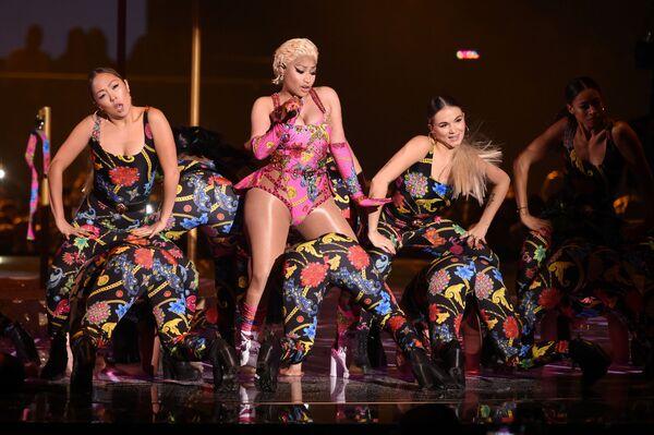 Vystoupení Nicki Minaj na akci s názvem MTV Europe Music Awards, 2018. - Sputnik Česká republika