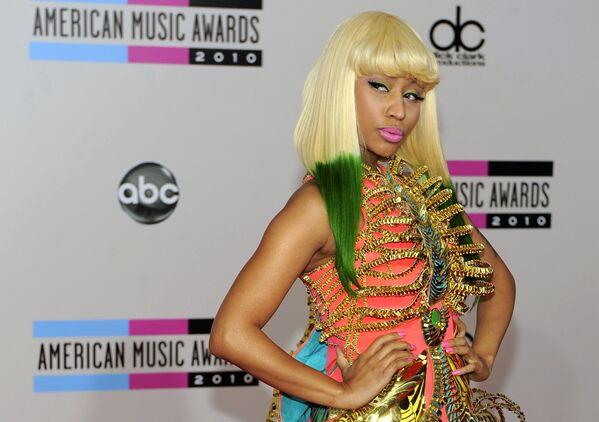 Nicki Minaj na 38. udělování hudební ceny American Music Awards, 2010. - Sputnik Česká republika