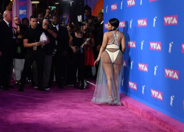 Nicki Minaj na MTV Video Music Awards v Radio City Music Hall. - Sputnik Česká republika