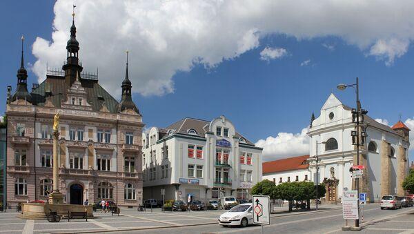 Pohled na náměstí českého města Turnov - Sputnik Česká republika