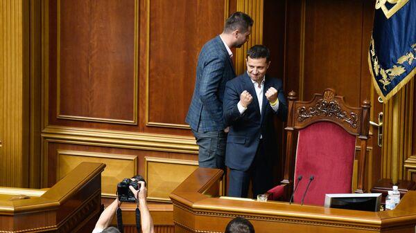 Prezident Ukrajiny Volodymyr Zelenskyj  - Sputnik Česká republika