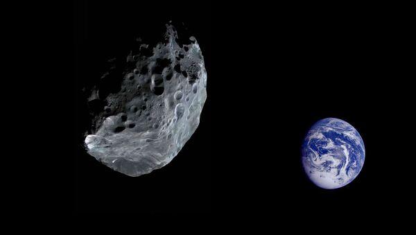Asteroid letící směrem k Zemi - Sputnik Česká republika