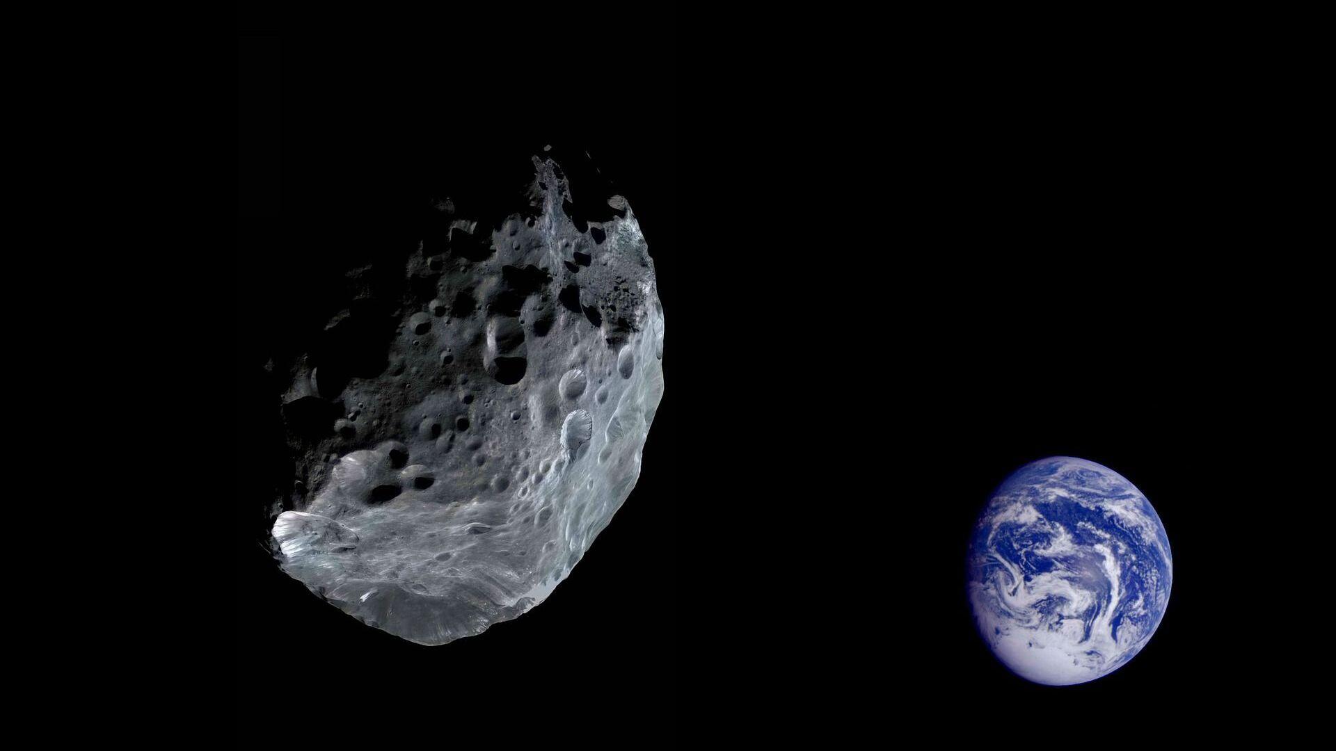 Asteroid letící směrem k Zemi - Sputnik Česká republika, 1920, 22.02.2021