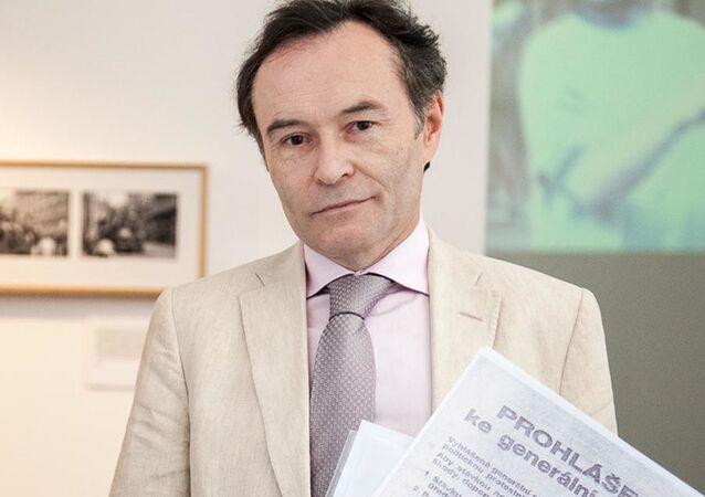 Bývalý český diplomat Petr Janyška