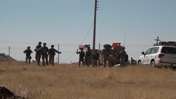 Video: Armády Turecka a USA provádějí společné hlídky na severovýchodě Sýrie - Sputnik Česká republika