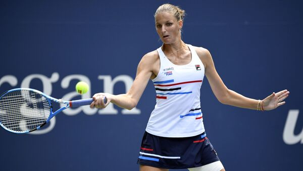 Karolína Plíšková na US Open - Sputnik Česká republika