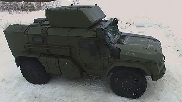 Ruské vojenské obrněné vozidlo Tajfun-VDV - Sputnik Česká republika