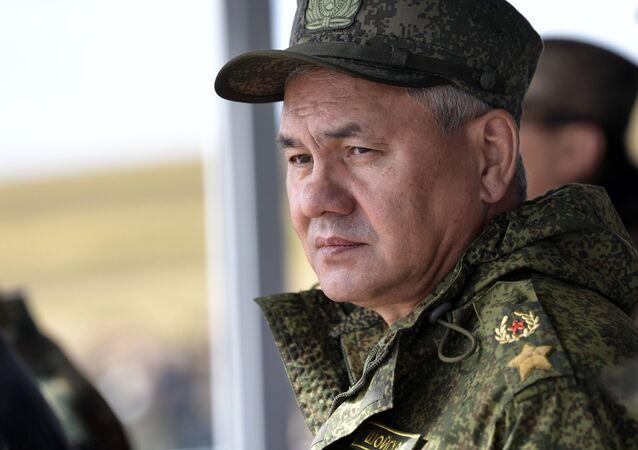 Ministr obrany RF Sergej Šojgu