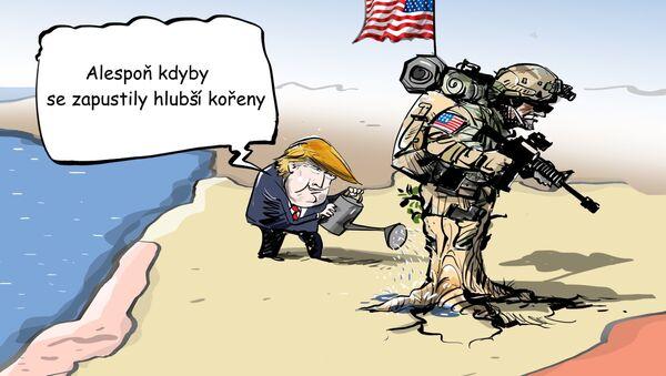 USA se snaží pustit kořeny do Sýrie - Sputnik Česká republika
