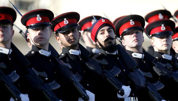 Budoucí vojáci armády Velké Británie - Sputnik Česká republika
