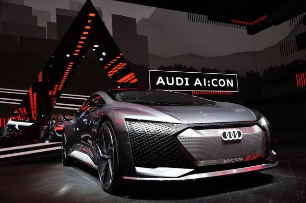 Audi AI:Con na Frankfurtském autosalonu. - Sputnik Česká republika