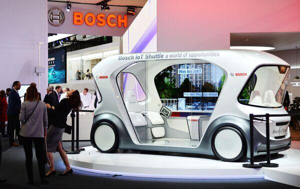 Bosch IoT Shuttle na Frankfurtském autosalonu - Sputnik Česká republika