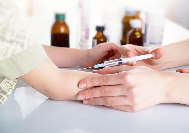 Očkování proti spalničkám. Ilustrační foto