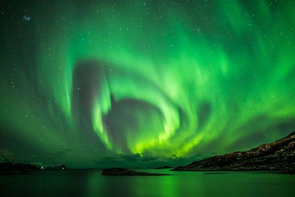 Fotografie Rings of the Northern Lights (Ruben Weytjens) - Sputnik Česká republika