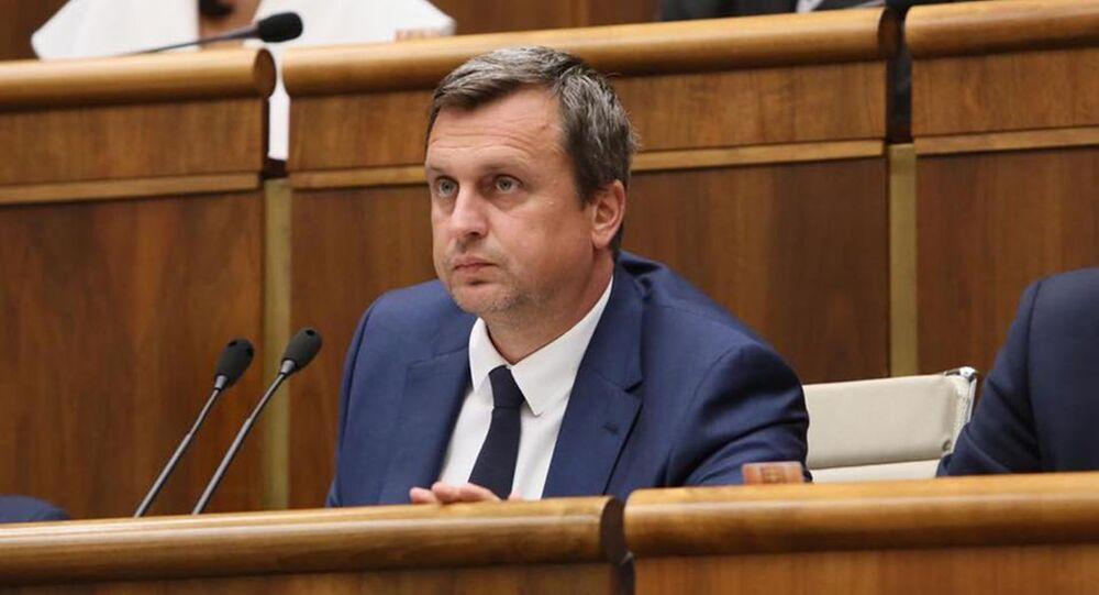 Předseda slovenské Národní rady Andrej Danko