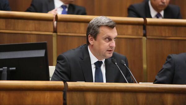 Andrej Danko - Sputnik Česká republika