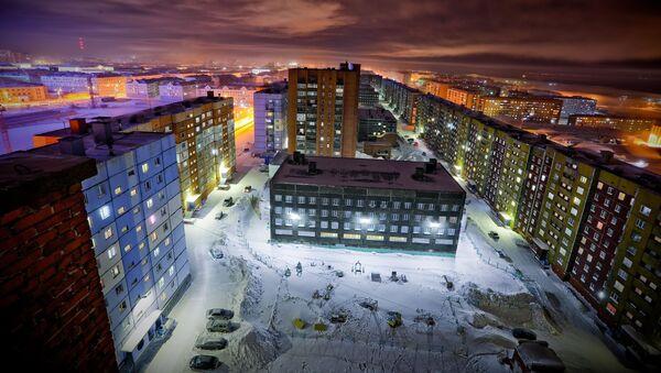 Zima v Norilsku - Sputnik Česká republika