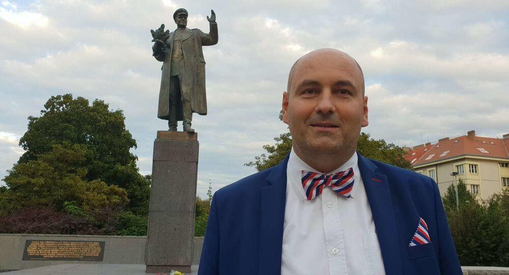 Bc. Robert Vašíček říká, že Praha 11 by mola památník maršála Koněva umístit na svém území
