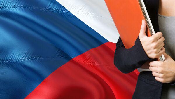 Česká vlajka. Ilustrační foto - Sputnik Česká republika