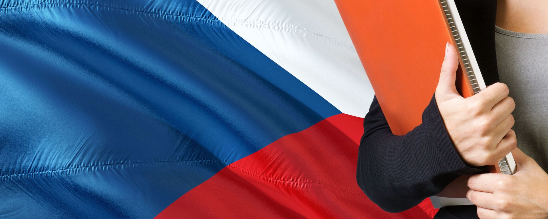 Česká vlajka. Ilustrační foto - Sputnik Česká republika, 1920, 15.06.2021