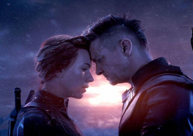 Snímek ze filmu Mstitelé 4: Finále (Avengers: Endgame)