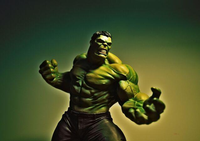 Postava komiksů společnosti Marvel Hulk