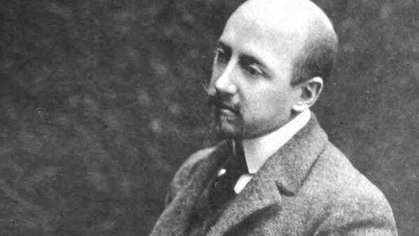 Italský spisovatel GabrieleD'Annunzio - Sputnik Česká republika