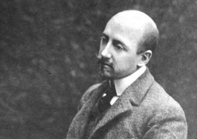 Italský spisovatel GabrieleD'Annunzio