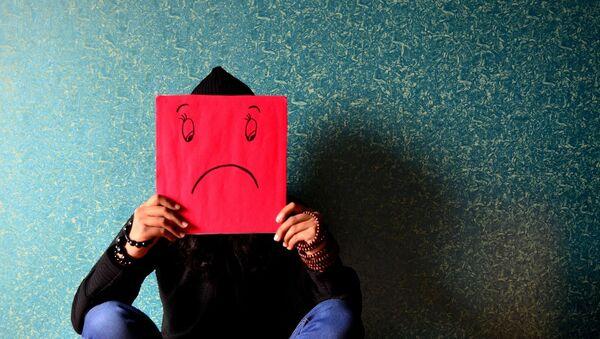 Člověk trpící depresí - Sputnik Česká republika