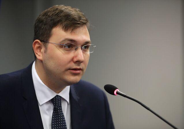 Poslanec za Pirátskou stranu Jan Lipavský