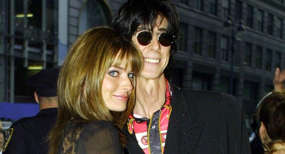 Ric Ocasek spolu s manželkou Pavlínou Pořízkovou