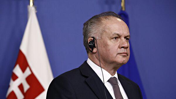 Exprezident Andrej Kiska - Sputnik Česká republika