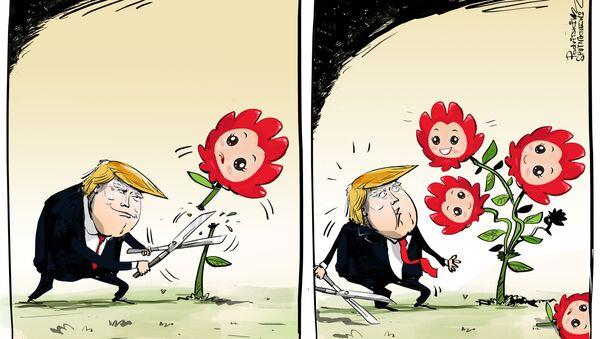 Trump - Sputnik Česká republika