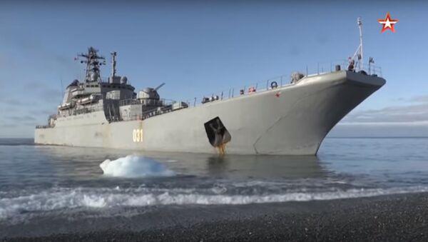 Arktický ostrov Bolševik byl dobyt ruským námořnictvem  - Sputnik Česká republika
