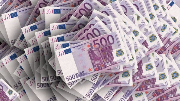 Bankovky v hodnotě 500 eur - Sputnik Česká republika