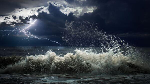Bouřka na moři - Sputnik Česká republika