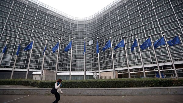 Berlaymont v Bruselu - Sputnik Česká republika