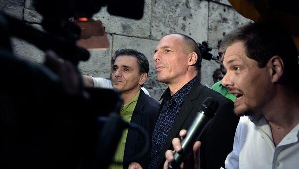 Yanis Varoufakis - Sputnik Česká republika