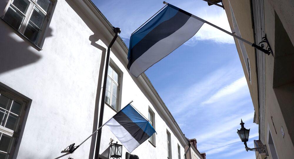 Estonská vlajka