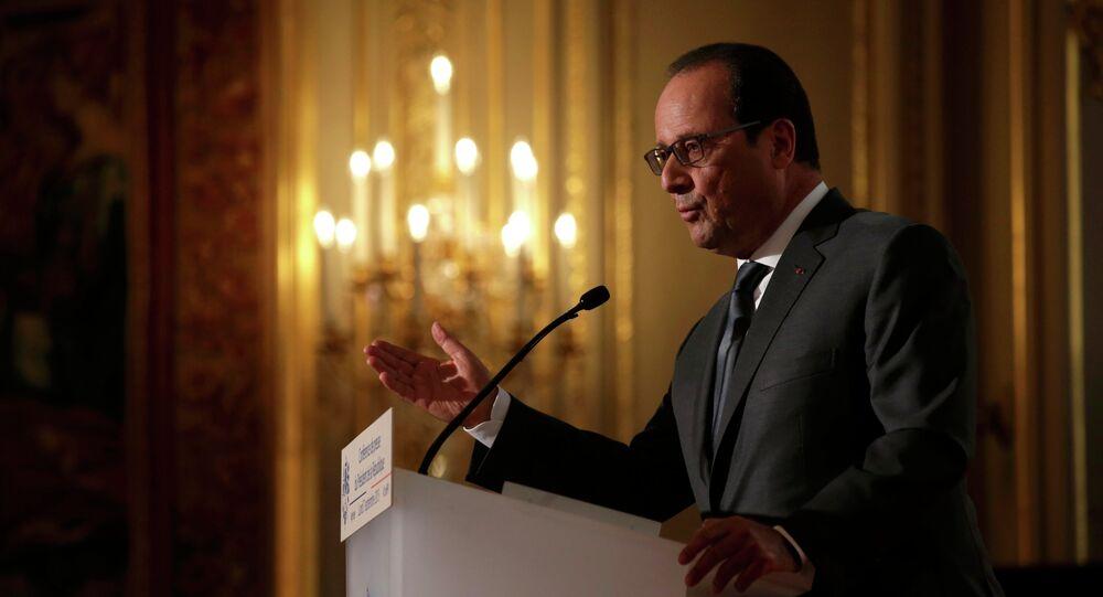 Francouzský prezident Francois Hollande