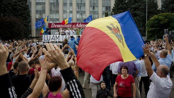 Protesty v Kišiněvě - Sputnik Česká republika