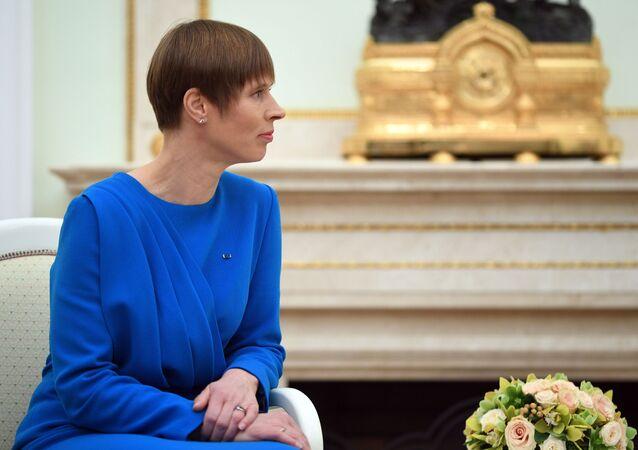 Estonská prezidentka Kersti Kaljulaidová