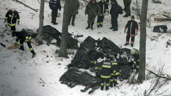 Havárie letadla AN-24 (5605), 19. ledna 2006. - Sputnik Česká republika