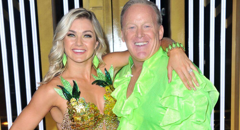 Bývalý mluvčí Bílého domu Sean Spicer v show Dancing with the Stars