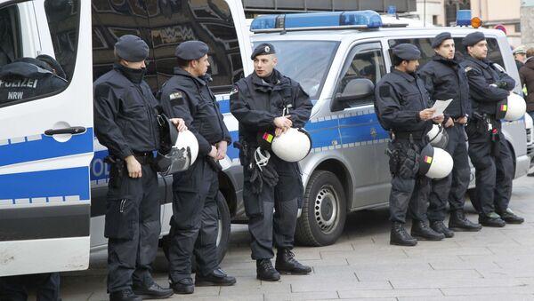 Německá policie v Kolíně nad Rýnem - Sputnik Česká republika
