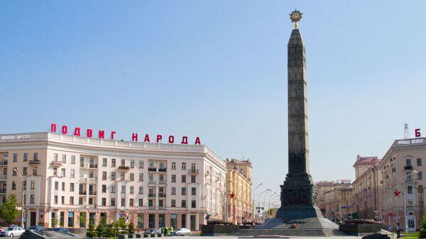 Náměstí v Minsku - Sputnik Česká republika