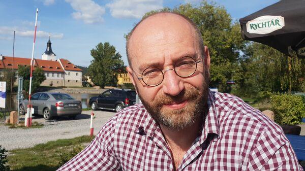 Sociolog Petr Hampl, Ph.D. - Sputnik Česká republika