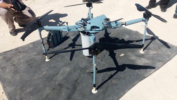 Dron s kazetovými bombami - Sputnik Česká republika